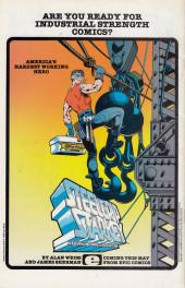 Verso de Amazing High Adventure (1984) -3- Amazing High Adventure #3