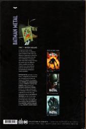 Verso de Batman Metal -3- Matière hurlante