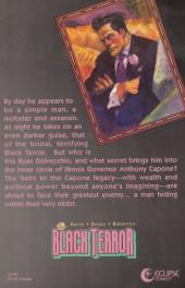 Verso de Black Terror (The) (1989) -1- Seduction of Deceit Book 1