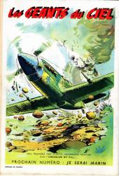 Verso de Coq hardi je serai (2e Série - Nouvelle Série)) -1- Je serai pilote