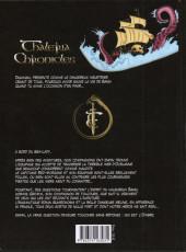 Verso de Thaléria Chronicles -2- Le masque tombe