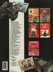 Verso de Spirou et Fantasio -8b1991- La mauvaise tête