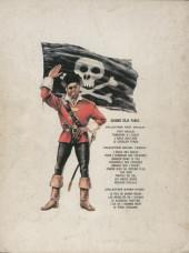 Verso de Barbe-Rouge -8'- Le piège espagnol