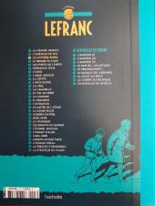 Verso de Lefranc - La Collection (Hachette) -3- Le Mystère Borg