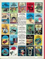 Verso de Tintin (Historique) -9C3bis- Le crabe aux pinces d'or