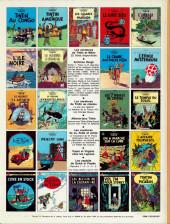 Verso de Tintin (Historique) -10C3bis- L'étoile mystérieuse