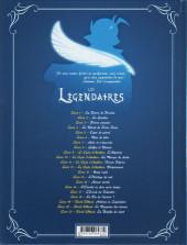 Verso de Les légendaires -21- World Without : la Bataille du néant