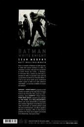 Verso de Batman : White Knight - Tome TS