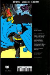 Verso de DC Comics - La légende de Batman -31- L'Alliance des Héros