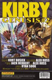 Verso de Kirby: genesis volume 1 -1- Pioneers