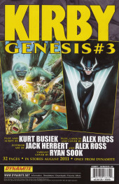 Verso de Kirby: genesis volume 1 -2- The Unknown Lands