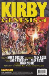 Verso de Kirby: genesis volume 1 -3- Ancient Evils