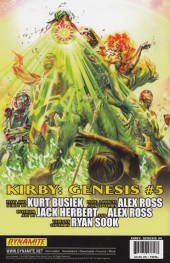 Verso de Kirby: genesis volume 1 -4- Prime Encounters