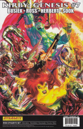 Verso de Kirby: genesis volume 1 -6- Myth & Legend (and a Wanderer)