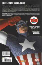 Verso de Captain America -1- Der Tod von Captain America