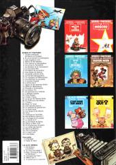 Verso de Spirou et Fantasio -34ES- Aventure en Australie
