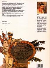 Verso de Capitaine Sabre -2- Miss Visage