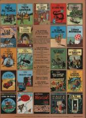 Verso de Tintin (Historique) -5C1- Le lotus bleu