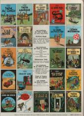 Verso de Tintin (Historique) -22C1bis- Vol 714 pour sydney