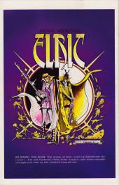 Verso de Elric (Thomas/Gilbert/Russell, 1983) -1- Book One