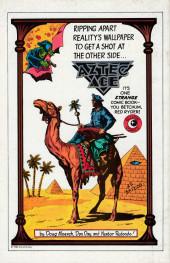 Verso de Night Music (1984) -2- Dance on a Razor's Edge