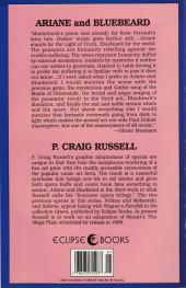 Verso de Night Music (1984) -8- Ariane & Bluebeard