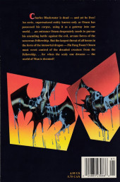 Verso de Legion of Night (The) (1991) -1- Messenger from the Dead