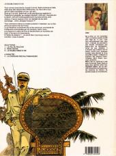 Verso de Capitaine Sabre -3- Le double neuf d'or