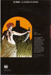 Verso de DC Comics - La légende de Batman -Premium01- BATMAN - Tome 1 évolution