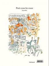 Verso de (AUT) Sfar - Paris sous les eaux