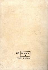Verso de Capt'ain Swing! (1re série) -Rec029- Album N°29 (du n°113 au n°116)