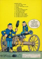 Verso de Les tuniques Bleues -13- Les bleus dans la gadoue