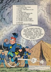 Verso de Les tuniques Bleues -12- Les bleus tournent cosaques