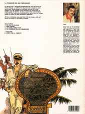 Verso de Capitaine Sabre -4- La croisade des saltimbanques