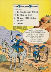 Verso de Les tuniques Bleues -5- Les déserteurs