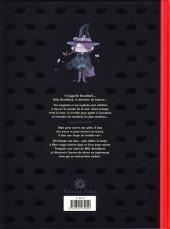 Verso de Billy Brouillard -4- Le Détective du bizarre T1 Billy Brouillard et la Chasse aux fantômes