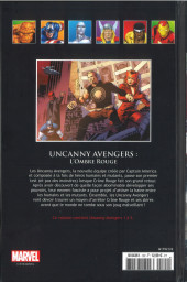 Verso de Marvel Comics - La collection (Hachette) -12285- Uncanny Avengers - L'Ombre Rouge