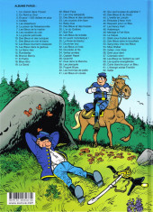 Verso de Les tuniques Bleues -62- Sallie