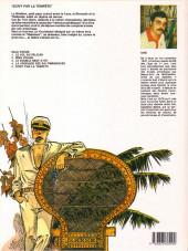 Verso de Capitaine Sabre -5- Écrit par la tempête