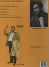 Verso de Blake et Mortimer (Les Aventures de) -4b1996a- Le Mystère de la Grande Pyramide - Tome 1