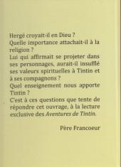 Verso de Tintin - Pastiches, parodies & pirates - L'Évangile selon Tintin