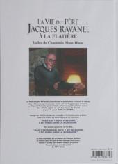 Verso de La vie du Père Jacques Ravanel à La Flatière