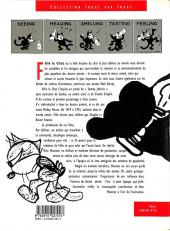 Verso de Félix le chat (Intégrales) -HS- Félix Le Chat - La Folle Histoire du Chat le Plus Célèbre au Monde