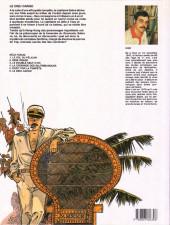 Verso de Capitaine Sabre -6- Le dieu cargo
