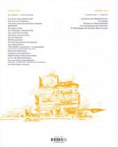 Verso de XIII -13bis- L'enquête - Deuxième partie