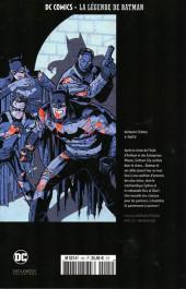Verso de DC Comics - La légende de Batman -HS4- Batman eternal - 4ème partie