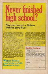 Verso de Career Girl Romances (1964) -68- Career Girl Romances #68