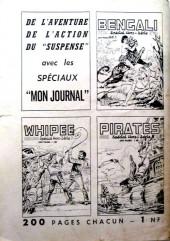 Verso de Apaches (Totem Spécial HS, Kris Spécial HS, puis) -7- Bill Falco