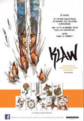 Verso de Klaw -1Extrait- Éveil