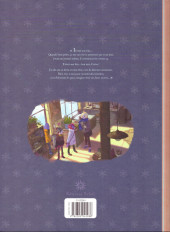 Verso de Les carnets de Cerise -3a16- Le Dernier des cinq trésors